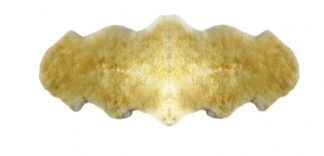 Sheepskin Xl 2-hide Fawn 185X55