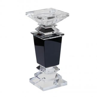 X111376 Crystal сandlestick 9*9*21,2 сm