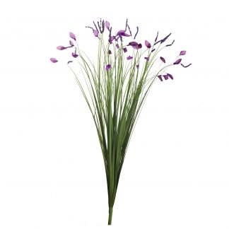 8J-12Rb0001 Stems Of Grass With Flowers 70Cm ...