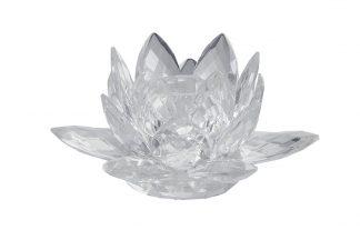 X110279 Crystal Candlestick 12X12X7