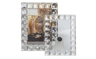 Xx1096A Crystal Photo Frame 24.5X18.3X11.6