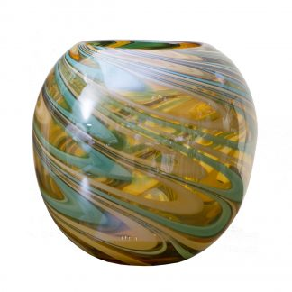 Hj360-25-G3 Glass Vase (Color) H23D26