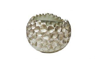 ZS-C1032-18 Silver flower pot 46*46*40 cm