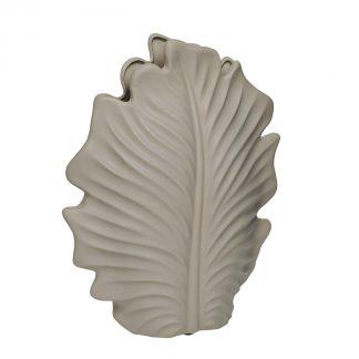 10K8772C Ceramic vase beige 23*11*29,5 cm