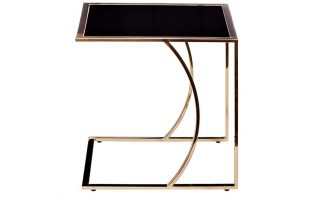 13Rx5076M-Gold Coffee Table 45 * 40 * 44 Blac...