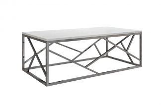 Gy-Ct2051214Blsm Coffee Table Artificial Marb...