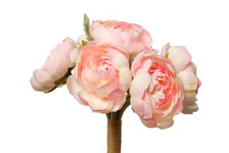 9F27870Pf-4069 Bouquet of pink buttercups 30 ...