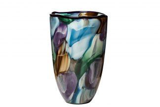HJ4143-28-K85 Colored glass vase d19*30 cm