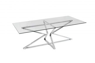 13Rx3012-Silver-Coffee Table 120 * 60 * 43Cm