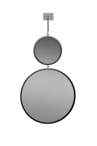 19-Oa-6003-1Bl Double Mirror, Diam. 20/40 Cm