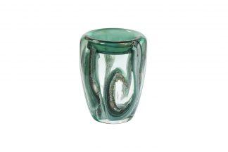 Hj4143-20-Q88 Vase Green H21Xd15,5