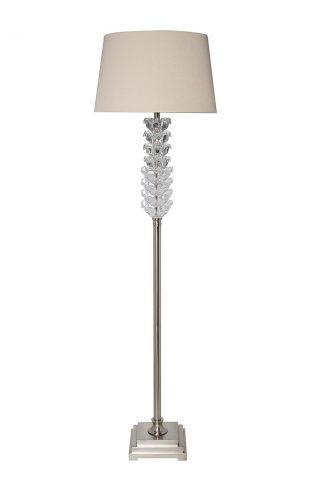 22-87508Fl Floor lamp shade beige d45*165 cm