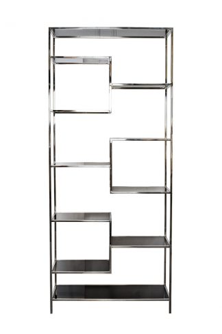 46As-Sh1408-Silver Rack Silver / Black 90 * 3...