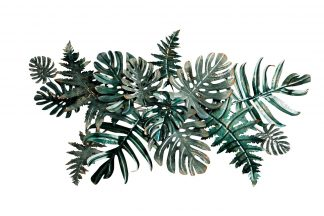 "37Sm-0378 Wall Decor ""Tropical Leaves&#..."