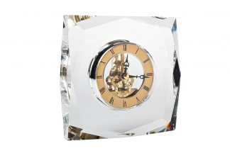 C81315 Table clock golden 14*5*15 cm