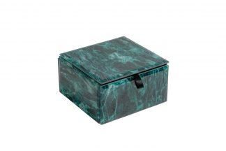 Kfj112 Casket Turquoise 12 * 12 * 7Cm