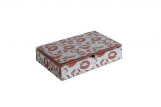 "Kfj216 Box ""Kiss"" 23 * 16 * 6Cm"