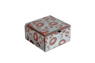 "Kfj218 Box ""Kiss"" 12 * 12 * 7Cm"
