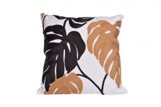 "28Ml-P00155 Pillow Square ""Monstera Lea..."