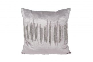"70Sw-26109 Pillow with beads ""LinesR..."