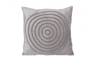 "70Sw-1043 Pillow With Beads ""Circles..."