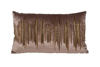 "70Sw-28048 Pillow with beads ""LinesR..."