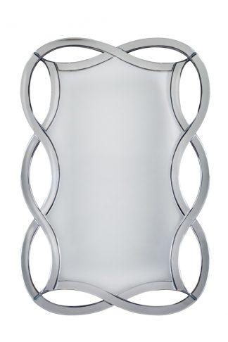 50SX-0925 Decorative mirror in a figured mirr...