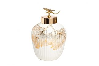 "55RD4232S Ceramic vase ""Golden dragonfl..."