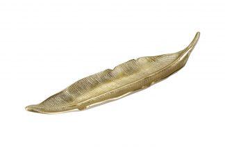 "A06560140 Decorative Plate ""Palm Leaf&#..."