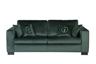 Ralph sofa 3m.spread, gray-green Bel37 with c...