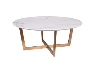 33FS-CT2029-BBS Coffee table Pearl White d100...