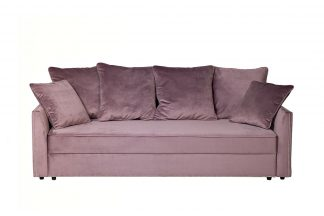 Mores sofa three-seater folding (dusty rose) ...