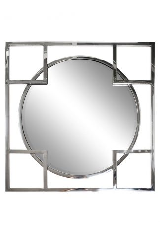 KFE1120 Square mirror in metal. frame color c...
