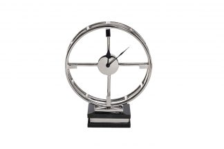 79MAL-5794-38NI Table clock on a stand h38 cm