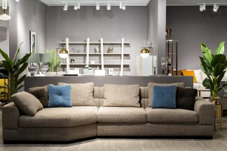 Furniture Set No. 2 Sofa Lazio, Left Trapeze ...