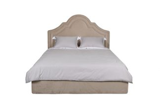 Charlotte Bed With Lifting Mechanism, Beige V...