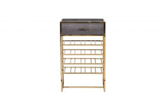 46As-Sh4612-Gold Rack For Wine Gold 50 * 30 *...