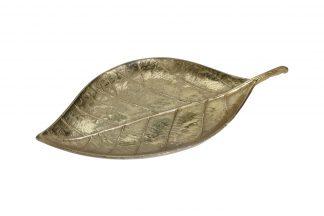 "A06560120 Plate Decor. ""Leaf"" Col..."