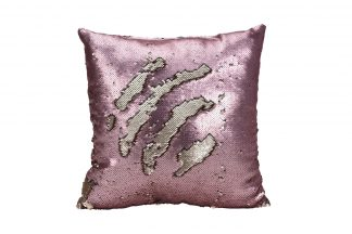 767542150 Pillow With Sequins Pink 43 * 43Cm