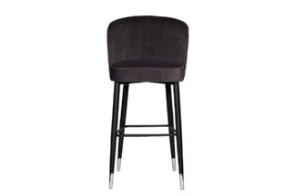 30C-309W GRE Bar stool velour gray 54*54*106 ...