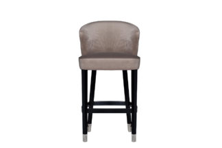 48MY-4115-B PEG Bar stool velour pearl gray 5...