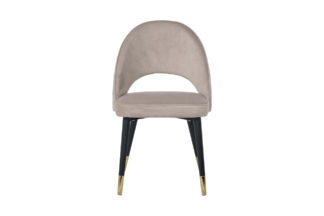 30C-1228F BG Chair velour gray-beige 51*56*84...