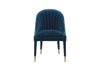 48MY-3607-1 BLU GO Chair velour blue 64*55*89...