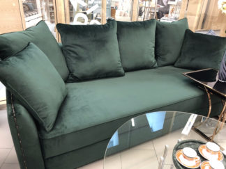 Mores sofa three-seater folding, Bel19 velour...