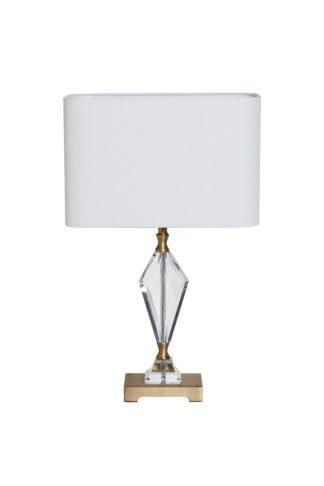 22-88232 Table lamp white d30*66 cm