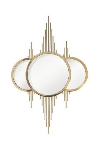 KFE1230 Decorative gold mirror 80*120 cm