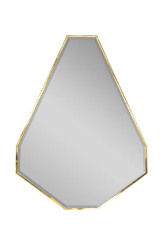 KFG088 Mirror in a metal frame (gold) 120*160...