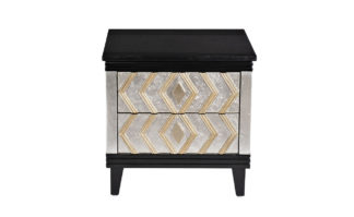 ART-1973-E Bedside table with stone top 55*45...