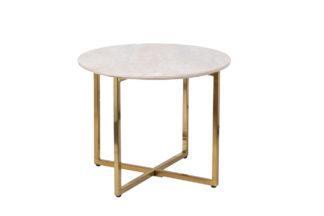 30B-855-2X Round coffee table (artificial mar...