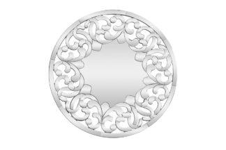 50SX-1916 Decorative round mirror d90 cm